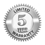 Limited 5 year warranty seal in Sydney